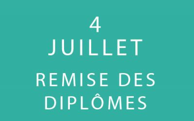 Remise des Diplômes – Promotions 8 et 9 «Coach Professionnel»