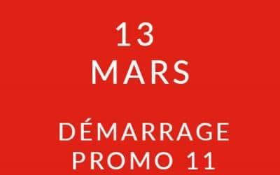 Démarrage Promo 11 – Formation « Coach professionnel »