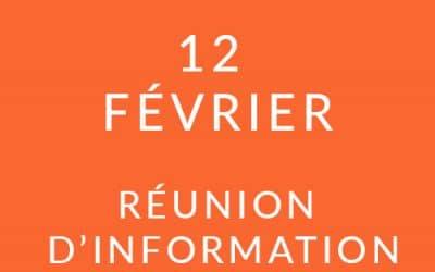 """Formation """"Coach professionnel"""" – Réunion d'information 12/02/19"""