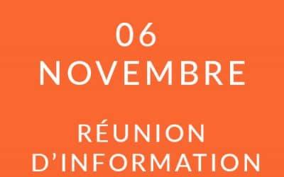 """Formation """"Coach professionnel"""" – Réunion d'information 06/11/18"""