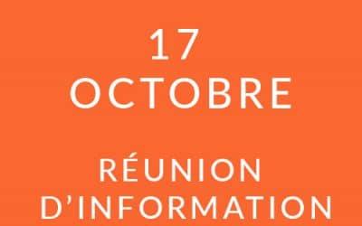 """Formation """"Coach professionnel"""" – Réunion d'information 17/10/18"""