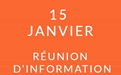 """Formation """"Coach professionnel"""" – Réunion d'information 15/01/19"""