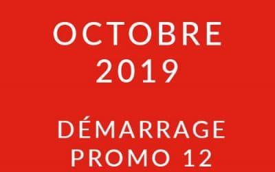 Démarrage Promo 12 – Formation « Coach professionnel »