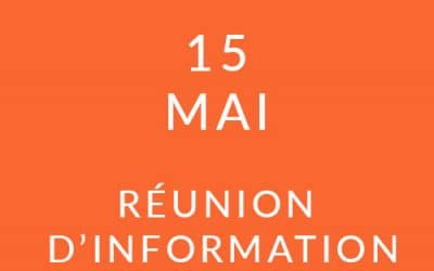 """Formation """"Coach professionnel"""" – Réunion d'information 15/05/19"""