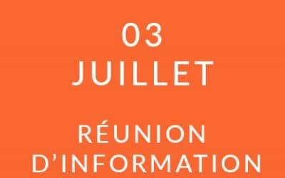 """Formation """"Coach professionnel"""" – Réunion d'information 03/07/19"""