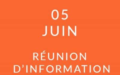 """Formation """"Coach professionnel"""" – Réunion d'information 05/06/19"""