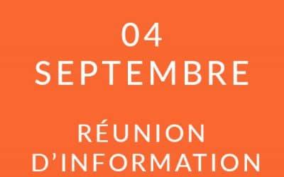 """Formation """"Coach professionnel"""" – Réunion d'information 04/09/19"""
