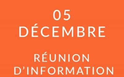 """Formation """"Coach professionnel"""" – Réunion d'information 05/12/19"""