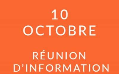 """Formation """"Coach professionnel"""" – Réunion d'information 10/10/19"""