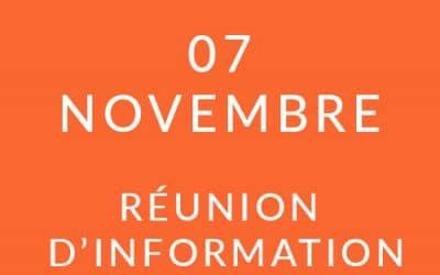 """Formation """"Coach professionnel"""" – Réunion d'information 7/11/19"""