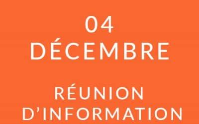 """Formation """"Coach professionnel"""" – Réunion d'information 04/12/19"""