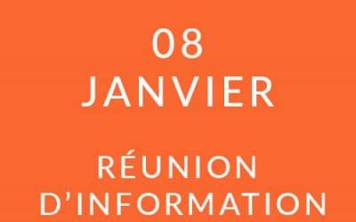 """Formation """"Coach professionnel"""" – Réunion d'information 08/01/20"""