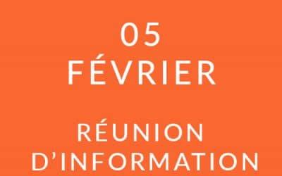 """Formation """"Coach professionnel"""" – Réunion d'information 05/02/20"""