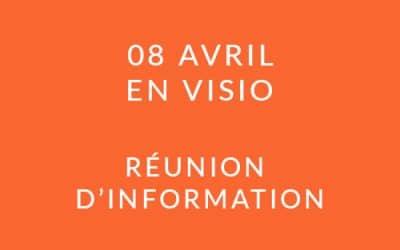 """Formation """"Coach professionnel"""" – Réunion d'information 08/04/20"""