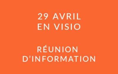 """Formation """"Coach professionnel"""" – Réunion d'information 29/04/20"""