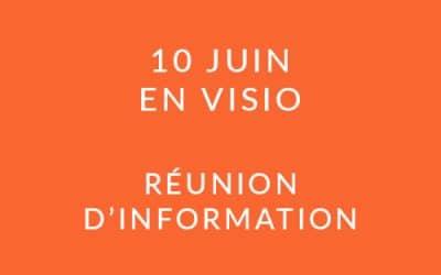 """Formation """"Coach professionnel"""" – Réunion d'information 10/06/20"""