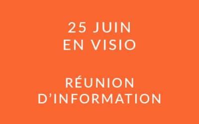 """Formation """"Coach professionnel"""" – Réunion d'information 25/06/20"""