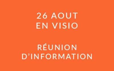 """Formation """"Coach professionnel"""" – Réunion d'information 26/08/20"""