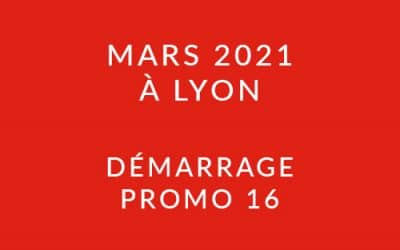 Démarrage Promo 16 – Formation « Coach professionnel » à Lyon