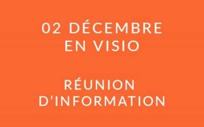 """Formation """"Coach professionnel"""" – Réunion d'information 02/12/20"""