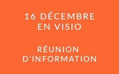 """Formation """"Coach professionnel"""" – Réunion d'information 16/12/20"""