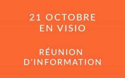 """Formation """"Coach professionnel"""" – Réunion d'information 21/10/20"""