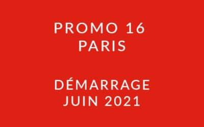 Démarrage Promo 16 Paris – Formation « Coach professionnel »