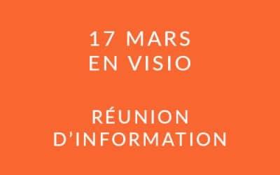 """Formation """"Coach professionnel"""" – Réunion d'information 17/03/21"""