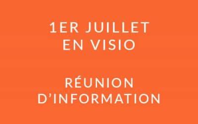 """Formation """"Coach professionnel"""" – Réunion d'information 01/07/21"""