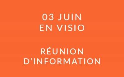 """Formation """"Coach professionnel"""" – Réunion d'information 03/06/21"""
