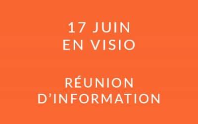 """Formation """"Coach professionnel"""" – Réunion d'information 17/06/21"""