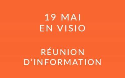 """Formation """"Coach professionnel"""" – Réunion d'information 19/05/21"""