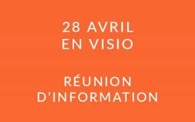 """Formation """"Coach professionnel"""" – Réunion d'information 28/04/21"""