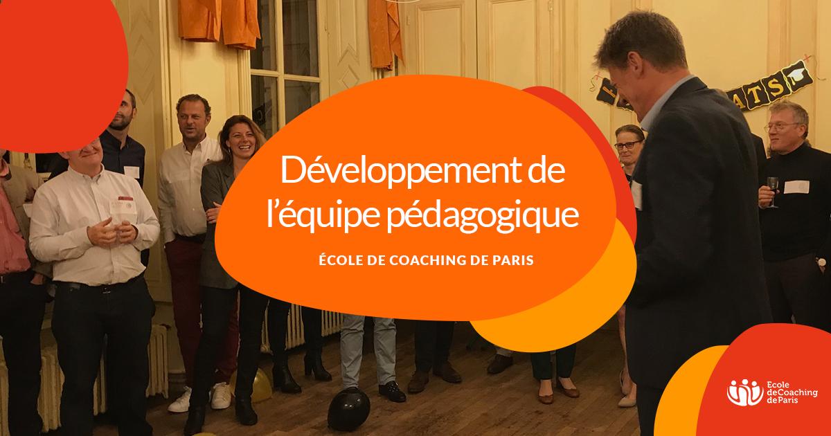 Développement Équipe pédagogique