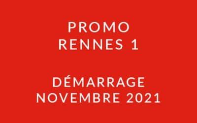 Démarrage Promo Rennes 1 – Formation « Coach professionnel »