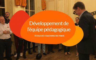 L'Ecole de Coaching de Paris renforce son équipe pédagogique: dans les coulisses du développement de l'équipe enseignante