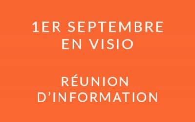 """Formation """"Coach professionnel"""" – Réunion d'information 01/09/21"""