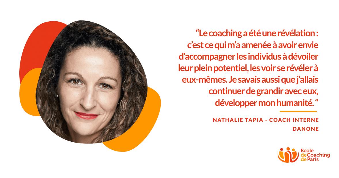 Nathalie Tapia - Coach interne Danone