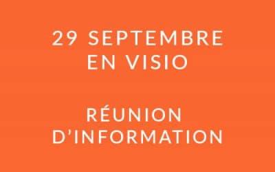 """Formation """"Coach professionnel"""" – Réunion d'information 29/09/21"""
