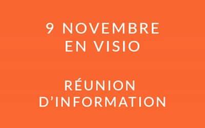 """Formation """"Coach professionnel"""" – Réunion d'information 09/11/21"""