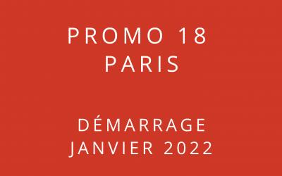 Démarrage Promo 18 Paris – Formation « Coach professionnel »